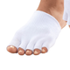 Healthy Steps Open Toe Gel Socks, One Size