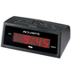 Self Setting Electric Alarm Clock, Black