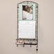 Calendar Holder with Basket and Hooks
