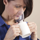 Steam Inhaler with Mask and Essential Oil
