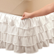 Layered Bed Ruffle by OakRidge Comforts