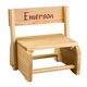 Wooden Personalized Children's Chair, Tan