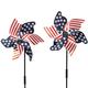 Patriotic Lawn Pinwheel Set of 2