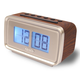 Jensen AM/FM Dual Alarm Clock with Digital Retro Flip Displ