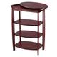 Wooden Swivel Table by OakRidge Accents