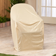 Beige Chair Cover