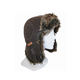 XTM Leather (faux) Bomber Hat
