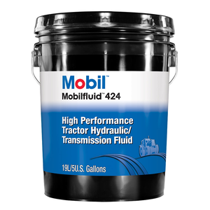 Mobilfluid 424 (Case of 2 - 2 5 Gal  Containers)