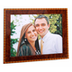 Diamante Marquetry Picture Frame, One Size
