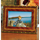 Rosa Marquetry Picture Frame, One Size