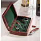 Wine Set in Personalized Wood Box, One Size