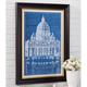 Vatican Basillica Blueprint, One Size