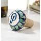 Ceramic Winestopper Personalized, One Size