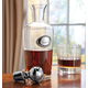 Clear Glass Decanter, One Size