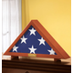 Personalized Veterans Flag Display Case Xl, One Size