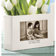 Photo Centerpiece - Custom Ceramic Photo Vase, One Size