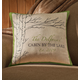 Personalized Retreat Pillow, One Size
