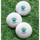 Personalized Above Par Golf Balls - Set of 6, One Size, White
