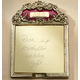 Personalized Burgundy Enamel Post-it Holder, One Size