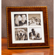 Diamante Marquetry Quad Picture Frame 3x3 3