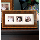 Diamante Marquetry Triple 2x2 Picture Frame, 12