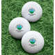 Personalized Hole In One Golf Balls - Set of 6, One Size, White