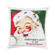 Retro Santa Personalized Pillow, One Size
