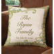 Personalized Linen Pillow, One Size
