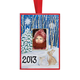 2013 Hand Painted Christmas Ornament, One Size