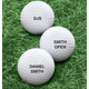 Personalized Golf Balls - Set of 6, One Size, White