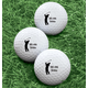 Personalized Men's Golf Balls - Set of 6, One Size, White