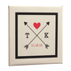 Love Arrows Canvas, One Size