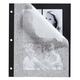 Designer Black 3-Ring Photo Album Pages - Set Of 10, One Size