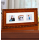 Rosa Marquetry Triple 2x2 Picture Frame 12
