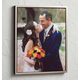 Framed Impressionist Photo Canvas - 16 X 20, 16