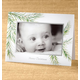 Watercolor Pine Photo Christmas Card set of 18