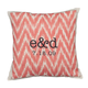 Ikat Personalized Pillow, One Size