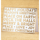 Golden Greetings Non-Photo Christmas Card Set of 18