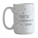 Personalized To the Moon Mug, One Size