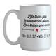 Life and Love Mug, One Size