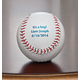Personalized Baseball, One Size, Black