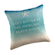Beach House Personalized Pillow, One Size