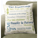 Family Story Pillow, One Size, Black