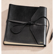 Personalized Hemingway Leather Journal, One Size, Black