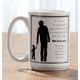 Personalized Father Mug, One Size