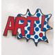 Pop Art Pin, One Size
