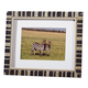 Striped Faux Marquetry Picture Frame, 5