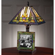 Stained Glass Lamp with Frame 4