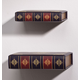 Library Shelves, Set of 2, One Size