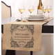 Bistro Personalized Table Runner, One Size